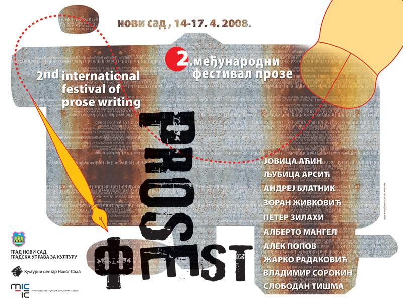 plakat Prosefest 2008